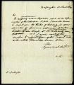 View Letter from Asbury Dickens to Dr. William Darlington, March 10, 1820 digital asset number 2