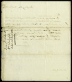 View Letter from Asbury Dickens to Dr. William Darlington, March 10, 1820 digital asset number 1