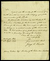 View Letter from George E. Ironside to Asbury Dickens, Esquire, Secretary of the Columbian Institute, September 4, 1820 digital asset number 2
