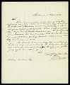 View Letter from G. Ducatel to Asbury Dickens, Secretary of the Columbian Institute, October 18, 1826 digital asset number 2