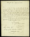 View Letter from Brigadier General Simon Bernard to Asbury Dickens, Esquire, Secretary of the Columbian Institute, August 23, 1826 digital asset number 2
