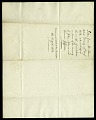View Letter from John Quincy Adams to Asbury Dickens, Secretary of the Columbian Institute, August 6, 1826 digital asset number 1