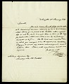 View Letter from Dr. Watkins to Asbury Dickens, Secretary of the Columbian Institute, January 21, 1826 digital asset number 1