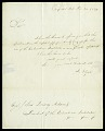 View Letter from J. Elgar to the Honorable John Quincy Adams, President of the Columbian Institute, November 20, 1824 digital asset number 1