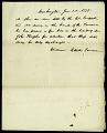 View Note from William Elliot, Treasurer, June 1, 1835 digital asset number 1
