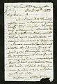 View Joseph Henry's Letter to Alexander Dallas Bache (October 16, 1854) digital asset number 0
