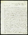 View Joseph Henry's Letter to Spencer Fullerton Baird (August 16, 1862) digital asset number 0
