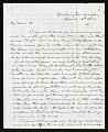 View Joseph Henry's Letter to Harriet Henry (April 13, 1847) digital asset number 0