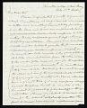 View Joseph Henry's Letter to Charles Wheatstone (February 27, 1846) digital asset number 0