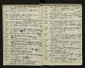 View Book no. 1, H.A. Allard, field collection specimen no. 1-1710 digital asset number 2