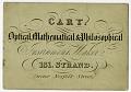 View Cary Instrument Maker Business Card digital asset number 0