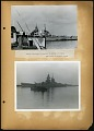 View Smithsonian-Firestone Expedition to Liberia, 1940. Includes newspaper articles. digital asset: French battleship, Richelieu in the harbor at Dakar, 1940 [Image No. SIA2012-7656]