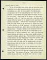 View Typewritten copy of field journal of Henry Cushier Raven written while in Singapore, Java and Borneo and vicinity, dated 22 February 1912 to 2 November 1914 digital asset number 1