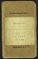 View H. G. Dyar bluebook 158 - 196 digital asset number 0