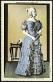 View Postcard of a Dress of Sarah Childress Polk digital asset number 0