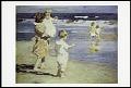 "View Postcard of ""Beach Scene"" digital asset number 0"