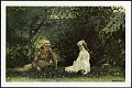 """View Postcard of """"Scene at Houghton Farm"""" digital asset number 0"""