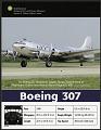 View Postcard of Boeing 307 digital asset number 0