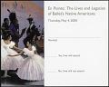 """View RSVP Postcard for """"En Pointe"""" Exhibit digital asset number 0"""