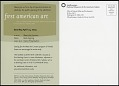 """View Postcard for """"First American Art"""" Exhibit digital asset number 1"""