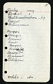View Field notes, Florida, April 23-May 31, 1938, New Mexico and Arizona, June 23-August 2, 1938, Pennsylvania and New York, August 31-September 14, 1938 digital asset number 1