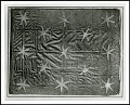 """View Curatorial Records digital asset: """"Washington Headquarters Flag,"""" 13 Star Flag, used at winter headquarters, Valley Forge, Pennsylvania, Winter 1777-1778. [Image no. SIA2014-00001]"""