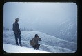 View Helmut Karl Buechner Papers digital asset: Frank Harbert and Fred Zwickel at Mill Creek Watershed, by Helmut K. Buechner, March 1949. [Image no. SIA2014-00006]