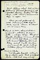 View Field notebook, 1950-1953 digital asset number 0