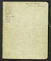 View Journal of Richard E. Blackwelder, West Indies, vol. 6 digital asset number 0