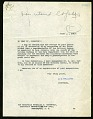 View Letter from Charles D. Walcott to Franklin D. Roosevelt, June 4, 1919 digital asset number 1
