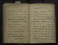 View Diary, European trip, 1914 (1 of 2) digital asset number 1
