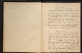 View U. S. National Museum log book of collecting trips for fossil cetaceans 1906 digital asset number 1