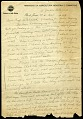 View Mary Agnes Chase Brazil letters, 1929-1930 digital asset number 0