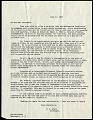 View Presidential Cruise of 1938 : correspondence, correspondents include Lucile McCain, Franklin D. Roosevelt, and Alexander Wetmore digital asset number 0