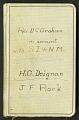 View Account book, 1928-1935: D. C. Graham, H. G. Deignan, J. F. Rock digital asset number 0