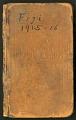 View Field notes by William M. Mann, Fiji Islands, 1915-1916 digital asset number 0