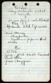 View Field notes, 1935-1936 : brief notes recorded on several trips to the Shenandoah Mountains, Virginia digital asset number 0