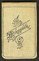 View Field notes, October 1911 : probably taken at Lawrence, Kansas digital asset number 0