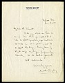 View Correspondence, 1924. Includes correspondence of William Harding Longley digital asset: Letter from W. H. Longley to Waldo L. Schmitt, dated June 14, 1924 [Image No. SIA2016-005371]