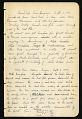 View Field notes, specimen no. 751-807, Oregon, 1898 digital asset number 1