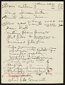 View United States Navy Galapagos Expedition, 1941 : miscellaneous notes (1 of 3) digital asset number 0