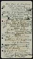 View United States Navy Galapagos Expedition, 1941: miscellaneous notes (2 of 3) digital asset number 3