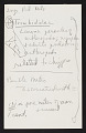 View Smithsonian-Bredin Belgian Congo Expedition, 1955 : miscellaneous notes (2 of 4) digital asset number 0