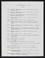 View Smithsonian-Bredin Society Islands Expedition, 1957 : list of soil samples collected digital asset number 0