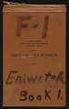 View Eniwetok, (F-1) book 1, May 12 - June 1, 1952 digital asset number 1