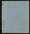 View Original notebooks of the botanist, volumes 1 - 4, Peru digital asset number 0