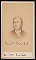 View Portrait of George William Curtis (1824-1892) digital asset number 0
