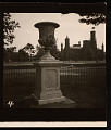 View Automobiles; Andrew Jackson Downing Urn on Smithsonian Grounds digital asset number 3