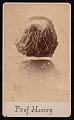 View Portrait of Joseph Henry (1797-1878) - Back of Head digital asset number 0