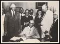 View President Franklin Delano Roosevelt Signs Social Security Act digital asset number 0